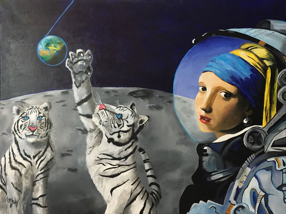 Girl in Space - Lost Earing